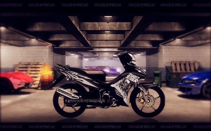 Tem Exciter Ghost Rider